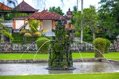 Taman Ayun świątynia Mengwi imperium, Badung regencja, Bali, Indone obraz royalty free