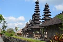 Taman Ayun tempel i Bali Fotografering för Bildbyråer