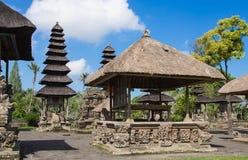 Taman Ayun tempel (Mengwi) i Bali Arkivbild