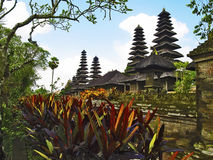 Taman Ayun Tempeldächer Stockbild