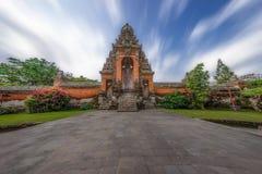 Taman Ayun temple gate Royalty Free Stock Photography