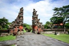 Taman Ayun temple gate, Bali Indonesia Stock Images