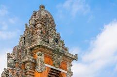 Taman Ayun temple gate decoration Stock Image
