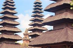 Taman Ayun temple, Indonesia. Pagodas of the Taman Ayun temple, Indonesia Royalty Free Stock Photo