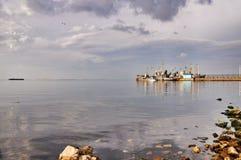 Taman beach Stock Photo