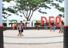 Taman DEO in Sorong Royalty Free Stock Photo