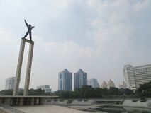 Taman Lapangan Banteng, Dżakarta fotografia royalty free