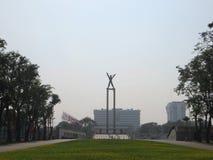 Taman Lapangan Banteng, Jakarta fotografering för bildbyråer