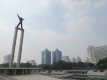 Taman Lapangan Banteng, Jakarta fotografia stock libera da diritti