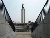 Taman Lapangan Banteng, Jakarta royaltyfri foto