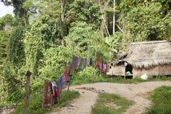 Taman Negara National Park, local people huts Stock Photos