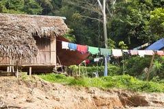 Taman Negara National Park, local people huts Stock Image
