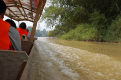 Taman Negara - Speed Boat Stock Image