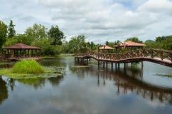 Taman Rekreasi Tasik Melati, Perlis, Malesia Immagini Stock