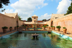 Taman Sari Wide Angle Stock Photography