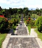 Taman soekasada. Popular with name of Taman Ujung, located at karangasem, bali indonesia Stock Photos