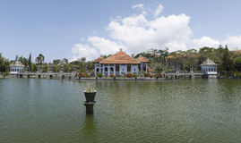 Taman Soekasada Ujung Water Palace, Panorama View Royalty Free Stock Photo