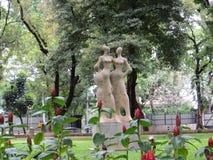 Taman Suropati Menteng, Jakarta. Fraternity monument in Taman Suropati Menteng, Jakarta, public park Stock Images
