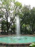 Taman Suropati Menteng, Jakarta. Water fountain in Taman Suropati Menteng, Jakarta, public park Royalty Free Stock Images