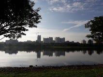 Taman Tasik Shah Alam na seção 7 imagem de stock