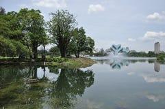 Taman Tasik Titiwangsa Fotografia Stock
