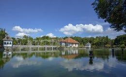 Taman Ujung Soekasada vattenslott Arkivfoton