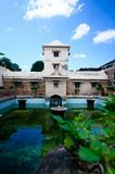 taman vatten för slottsari Royaltyfri Fotografi