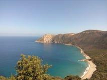 Tamanart, collo, επαρχία skikda στοκ φωτογραφία με δικαίωμα ελεύθερης χρήσης