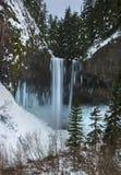 Tamanawas Spada w zimie obraz stock