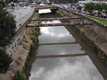 Tamanduateí River Royalty Free Stock Images