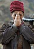 Tamang Man 1. Tamang man in the Langtang Region of Nepal Royalty Free Stock Photos