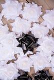 Tamanho e número na pálete de madeira fotografia de stock royalty free