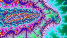 Tamanho muito grande colorido abstrato surpreendente da alta resolução do fractal do fundo do universo de Digitas imagens de stock royalty free
