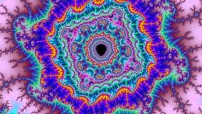 Tamanho muito grande colorido abstrato surpreendente da alta resolução do fractal do fundo do universo de Digitas fotografia de stock royalty free