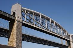 Tamar-Brücke Lizenzfreie Stockfotografie