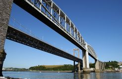 Tamar Bridge Royalty Free Stock Image