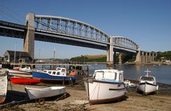 Tamar Bridge Royalty Free Stock Photography