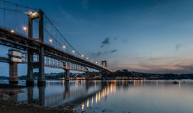 Tamar Bridge stockfoto