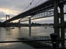 Tamar most zdjęcia stock