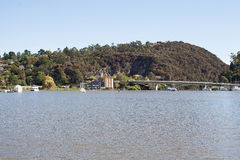 Tamar River Launceston Lizenzfreie Stockbilder