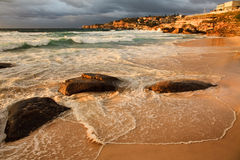 Tamarama 2 stones Royalty Free Stock Photography