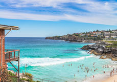 Tamarama Beach Day Royalty Free Stock Photo