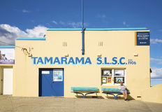 Tamarama beach lifesavers club in bondi sydney australia Stock Image