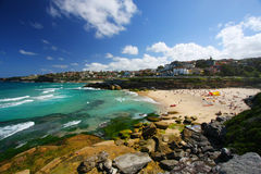 Tamarama beach in Sydney, Australia stock photos