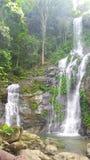 Tamaraw Falls, Oriental Mindoro. Hidden Gems of Mindoro Island Stock Photography