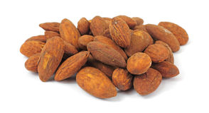 Tamari Flavored Almonds Stock Photography