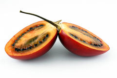 Tamarillo. Isolated on white background Stock Image