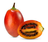 Tamarillo. Isolated on white background Royalty Free Stock Photography