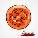 Tamarillo Стоковое Изображение