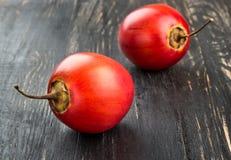 Tamarillo de deux fruits Photographie stock libre de droits